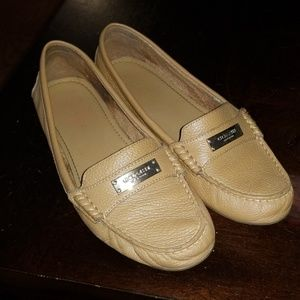Coach fredrica leather loafers size 8.5